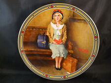 """1985 Knowles """"A Young Girl'S Dream"""" Rockwell'S American Dream Series Col Plate"""