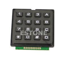 Matrix Keyboard 16 4x4 Keypad Use Key PIC AVR Stamp Sml