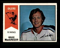 1974-75 O-Pee-Chee WHA #2 Bruce MacGregor EXMT X1105814