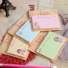 1pcs Random Cute Animal Sticker Bookmark Sticky Notes Point Marker Memo Post Tab