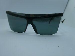 Authentic Vintage Cristian Dior Green Sunglasses Shield 2395 Made in Austria