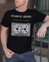 Guano Apes Men Black T-shirt Metal Band Fan Rock Band Tee Shirt