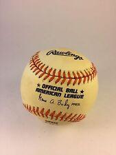Cal Ripken Jr. Official American League Rawlings Baseball The Streak 2130-2131