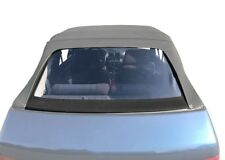 Peugeot 205 Cabriolet PVC Rear Window Cover Panel Convertible Cabriolet, Black
