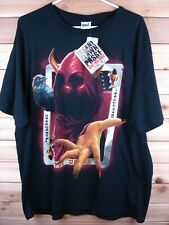 "Hot Topic ICP Insane Clown Posse BANG POW BOOM ""THE WRAITH"" T-Shirt TOM WOOD XL"