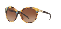 *NEW* TIFFANY & CO. 0TF4133 82143B YELLOW HAVANA BLUE, BROWN GRADIENT LENS