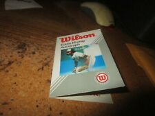 New ListingEddie Murray Baltimore Orioles c. Early 1980's Wilson Baseball Card Glove Tag