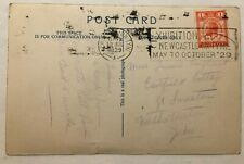 More details for gb exhibition postmark 1929 newcastle on tyne - north east coast exhibition