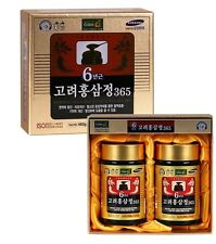 Korean Red Ginseng Extract Gold 6Years Saponin 240g(8.5oz) X 2EA Panax Bottle