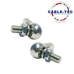 2 X M6 BALL JOINT ASSY   Cable Tec