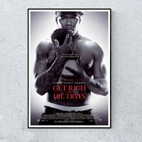 50 Cent Get Rich Or Die Tryin' Film Movie Glossy Print Wall Art A4 Poster Decor