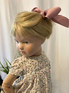 "22"" model 308 ""Amy"" antique Schoenhut doll restored human hair wig"