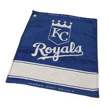 "KANSAS CITY ROYALS  16"" X 19"" Jacquard Woven Team Golf Towel  MLB Licensed"