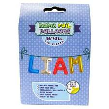Royal County Products Name Foil Balloons - Liam - New