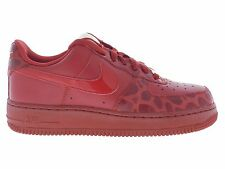 Nike Womens Air Force 1 '07 Size 8.5 New Red Valentines Day Shoes 315115 600