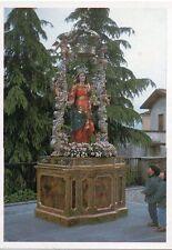 scat Madonna Garlate 1992-statua lignea del 1700  Santino Holycard