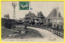 cpa Normandie 14 - VARAVILLE (Calvados) LE HOME Rue d'Hastings Villas Éolienne