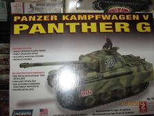 Lindberg Wwii German Panzer Kampfwagen V Panther G Tank-Scale 1/72-Free Shipping