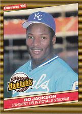 1986 Donruss Bo Jackson #43 Baseball Card