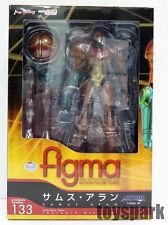 Max Factory Figma #133 Metroid Other M SAMUS ARAN action figure nintendo wii 3ds