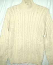 RALPH LAUREN POLO ALPACA WOOL SWEATER SIZE SMALL CABLE KNIT BEAUTIFUL