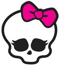 "Monster High Skullette Iron On Transfer 5"" x 5.5"" for LIGHT Colored Fabric"