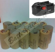 Batteria trapano AEG B1820R 18V Ni-Cd 2000 mAh. kit AUTO INSTALLAZIONE