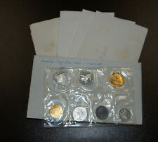 Five (5) 1965 Austria 7 Coin Proof Sets!!