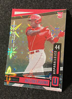 2020 Panini Chronicles Aristides Aquino Unparalleled Galactic SP Rookie #11 Reds