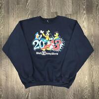 Vintage DISNEY Mens Sweatshirt | Walt Disneyworld USA | XL Blue