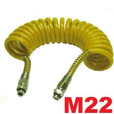 Luftwendel Luftschlauch Spiralschlauch  M22 X 4,5 m LKW TOP PREIS !!!