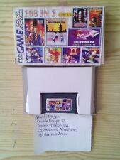 Juego Game Boy Advance 108 En 1 - Double Dragon+Double Dragon II+Double Dragon I