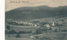 Nr.30020 PK  Gruss aus St.Oswald bei Freistadt gel,  1905 O.Ö.