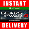 Gears of War 4 Xbox One / PC Windows 10 (Full Game) - Instant Dispatch 24/7