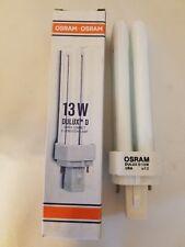 Osram Dulux D 13W Super Compact Fluorescent Lamp Light Bulb