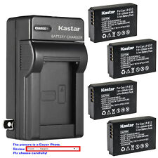 Kastar Battery AC Wall Charger for Canon LP-E12 LC-E12 & Canon EOS Rebel SL1