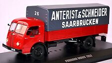 Panhard Movic 1952 Anterist & Schneider Saarbrücken rot red 1:43 IXO TRU014
