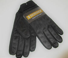 ISOTONER mens BRUSHED MICROFIBER gloves  ONE SIZE NEW NWT