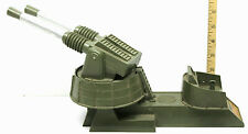 1960 Remco USS Hawkeye Pom-Pom Gun #603 Rare Green Twin Guns Great Shelf Piece