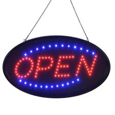 Ultra Bright Neon Led Open Light Business Sign Flash Animated Motion w/ On/Off
