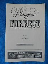 South Pacific - Forrest Theatre Playbill - October 18th, 1954 - Iva Withers