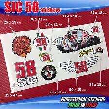Set n.9 adesivi SIC 58 Simoncelli Vari SIC10
