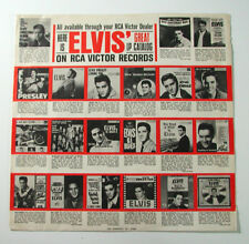 ELVIS PRESLEY Inner Sleeve Only LP Extended Play EP RCA Victor 21-112-1-40B VTG