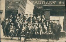 France, Gallardon, Photo de classe 1912, 1912, vintage silver print on carte pos