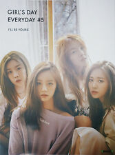 GIRLS DAY - GIRL'S DAY EVERYDAY #5 [Type-A] OFFICIAL POSTER with Tube Case