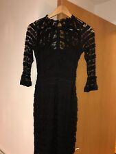 Lipsy BNWT Ladies Size 6 Black Lace Dress