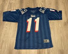 New England Patriots Starter Drew Bledsoe Vintage Authentic Jersey Size 46