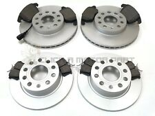 VW GOLF MK5 2.0TDI + GTi 05-09 FRONT & REAR BRAKE DISCS & PADS (CHECK SIZE)