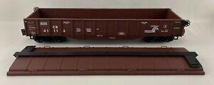 ARISTO Craft Trains ART-41113 Conrail Covered Gondola Car, Gauge #1, Scale 1:29