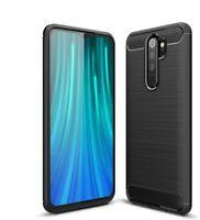 For Xiaomi Redmi Note 8 Pro Case Carbon Fibre Gel Cover Ultra Slim Shockproof